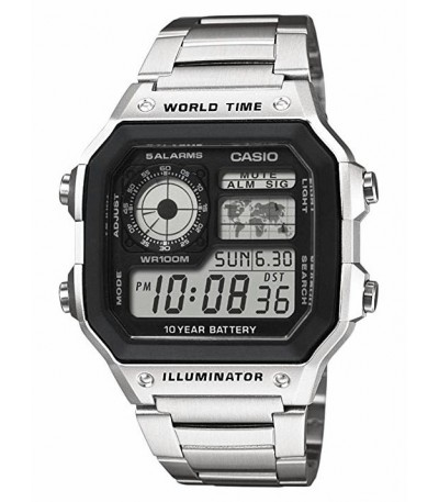 RELOJ DIGITAL COLLECTION MEN CASIO - AE-1200WHD-1AVEF