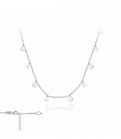 COLLAR MINI MOON & STARS PLATA - 174433
