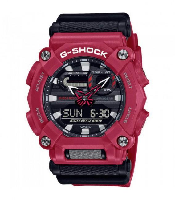 RELOJ ROJO CASIO G-SHOCK HEAVY DUTY - GA-900-4AER