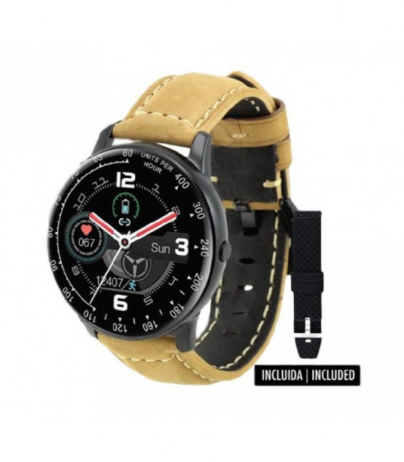 RELOJ WEARABLE SMARTBAND AVIATOR SAMI - WS-2351M