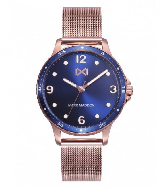 RELOJ ACERO SHIBUYA MARK MADDOX - MM0122-35