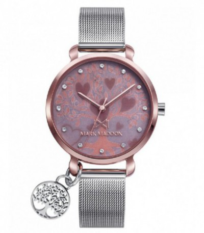 RELOJ ACERO SHIBUYA MARK MADDOX - MM0123-17