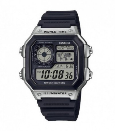 RELOJ DIGITAL COLLECTION MEN CASIO - AE-1200WH-1CVEF