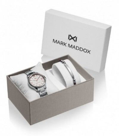 PACK RELOJ MUJER ACERO TOOTING MARK MADDOX - MM7145-03
