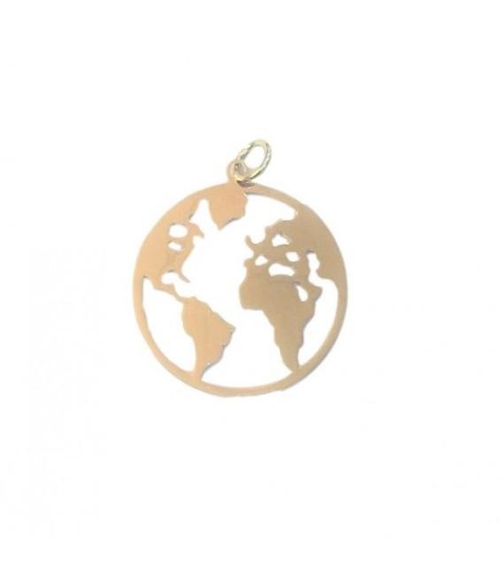 Medalla Mapamundi Oro