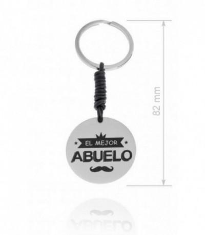 LLAVERO ACERO ABUELO - 220128