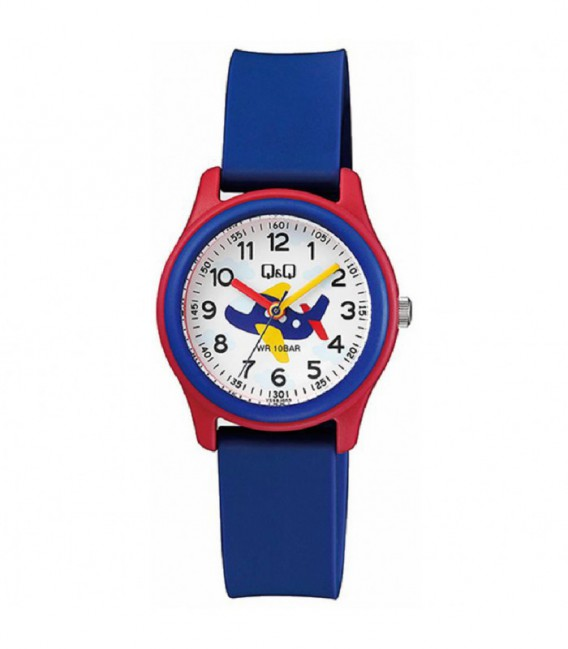 RELOJ INFANTIL AVION Q&Q - VS59J009