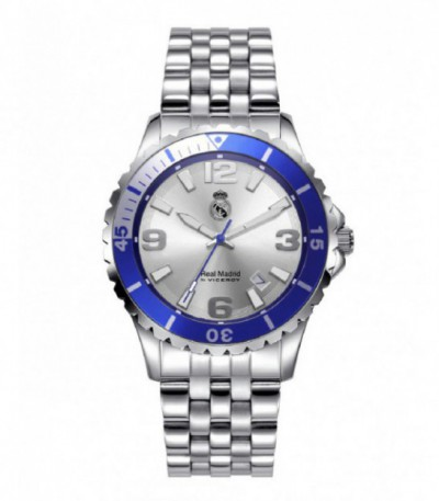 RELOJ CADETE ACERO REAL MADRID BY VICEROY - 401120-05