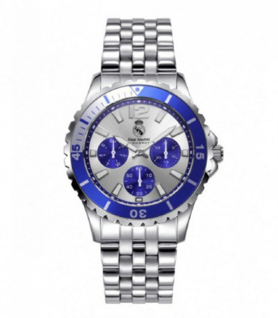 RELOJ CADETE ACERO REAL MADRID BY VICEROY - 401124-05