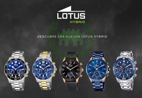 Smartwatch Lotus Hybrid, relojes revolucionarios en todos los sentidos