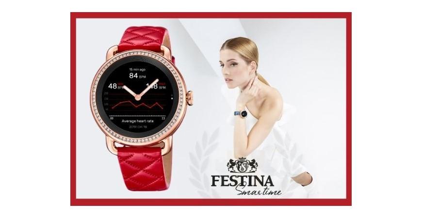 NUEVO Smartwatch Festina Smartime de mujer